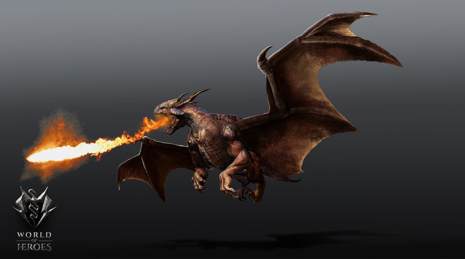 Dragon flying2