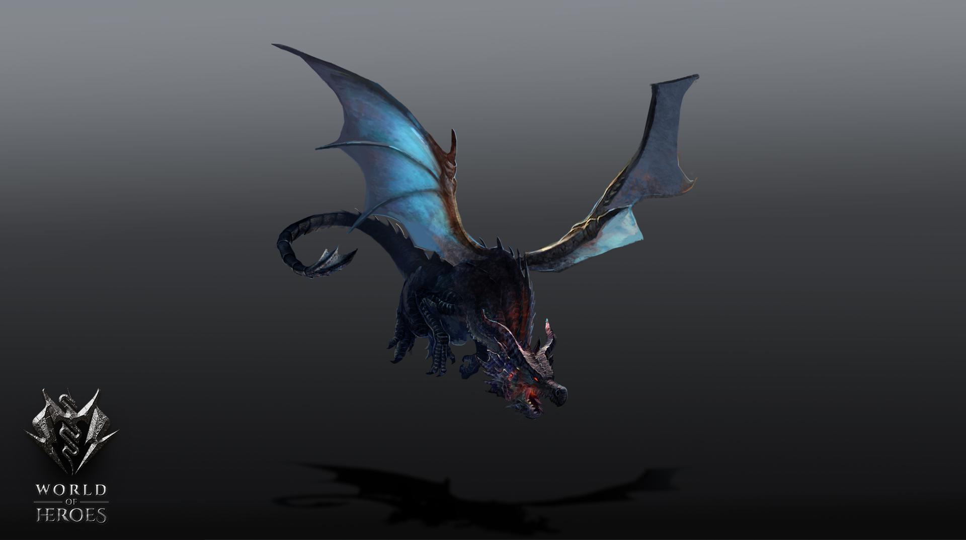 Dragon flying4